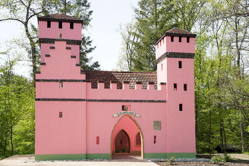 Märchenwald Sambachshof Dornröschen